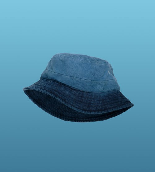 Levi's Made & Crafted Indigo Dipped Bucket Hat @LEVIS