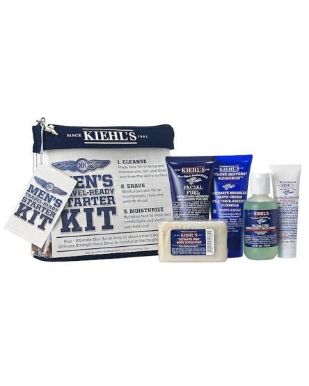 Grooming: Kiehl's Men's Travel Ready Starter Kit @Kiehls