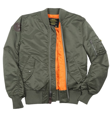 Alpha Industries: Burnett Flight Jacket @AlphaIndustries