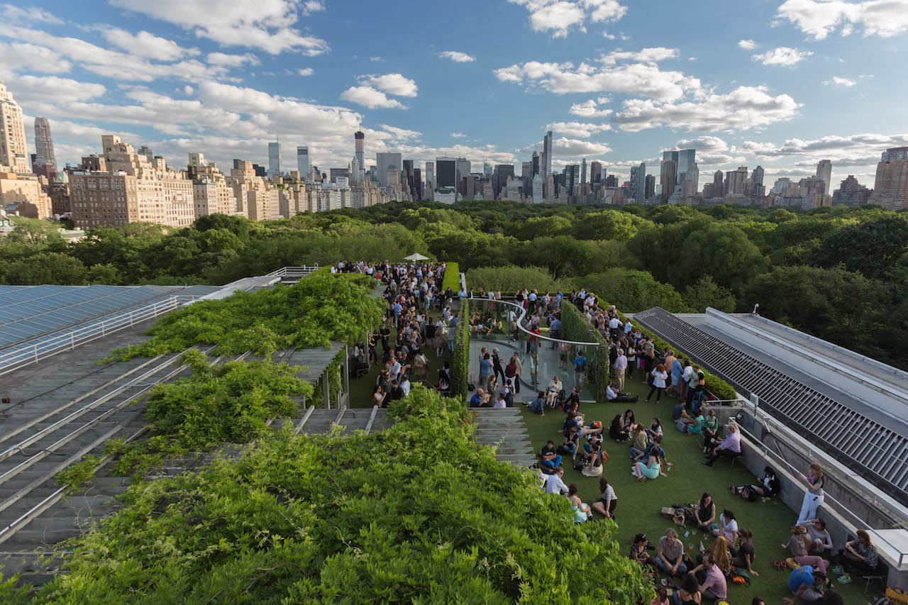 The Roof Garden At The Met Metmuseum Marcus Troy