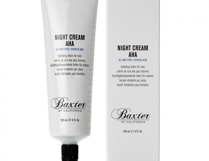 Grooming: Baxter Of California Night Cream AHA @BaxterOfCA