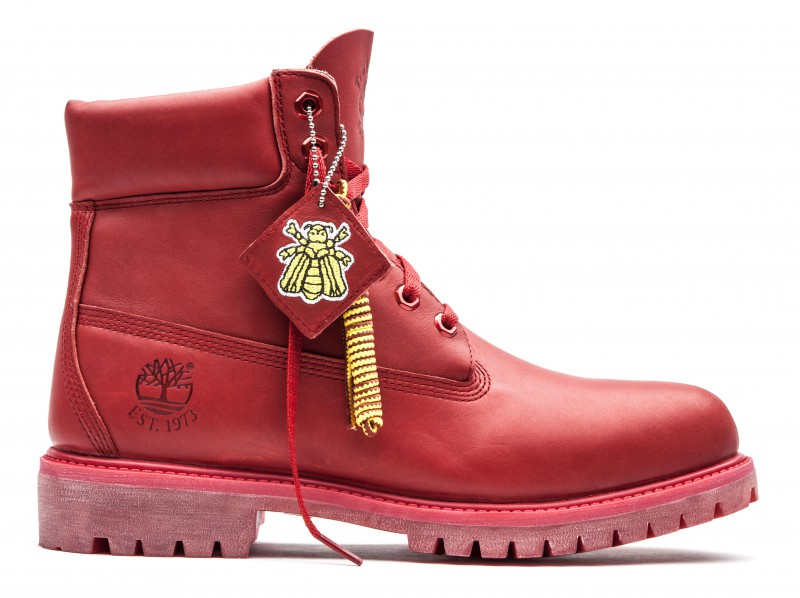 red timberland