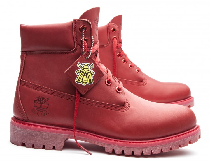 Timberland X Bee Line for BBC Red Boot @timberland @bbcicecream