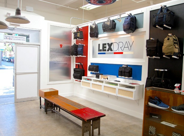 Retail: Lexdray Installation at Conveyor @ Fred Segal @Lexdray