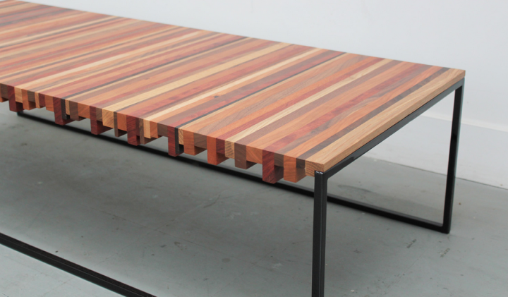Home: Uhuru Striper Coffee Table @uhurudesign