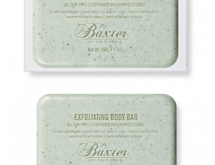 Grooming: BOC Launches Exfoliating Bar Soap @BaxterOfCA