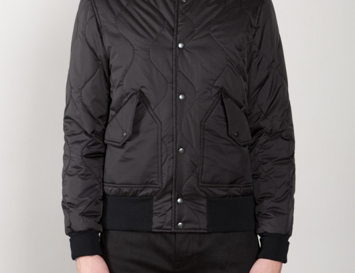 Wings+Horns Combat Quilted Bomber @wingsandhorns