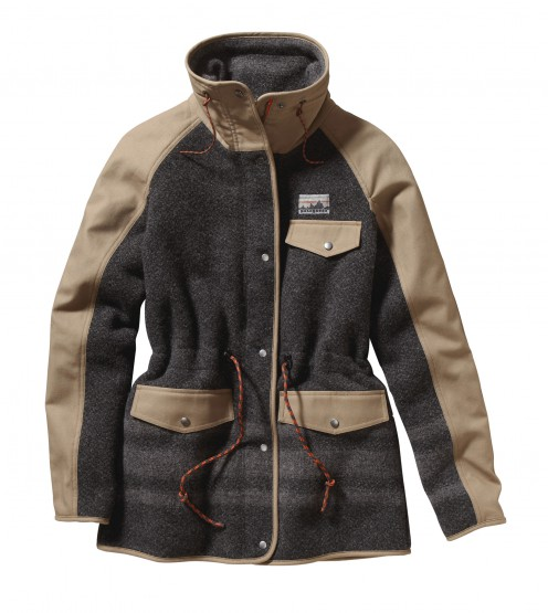 SMMF: Patagonia Reclaimed Wool Parka @patagonia
