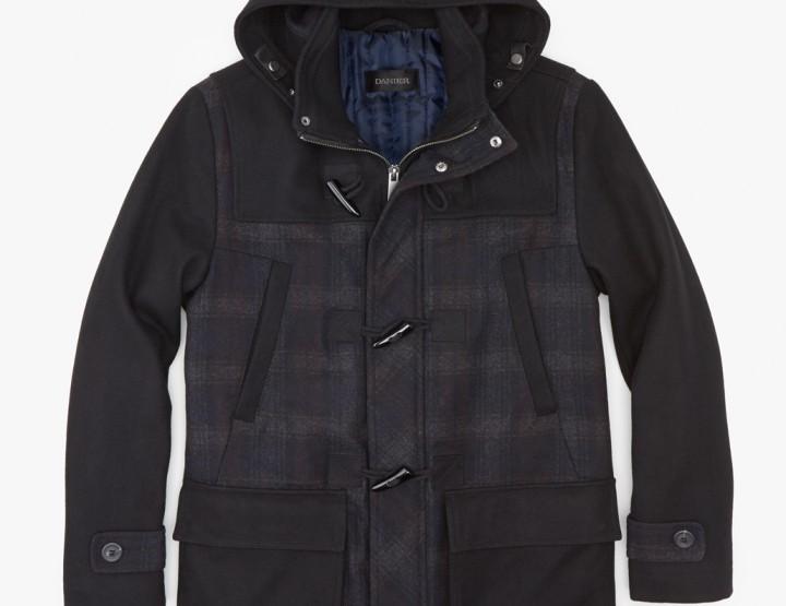 Danier Leather Wesley Wool Blend Duffel Coat @danierleather