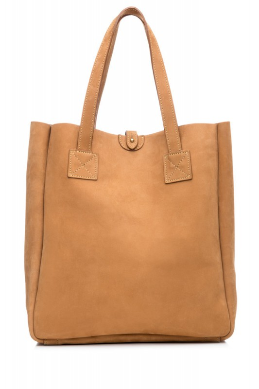 Haspel 105 x Mulholland American Bison Tote @HaspelClothing