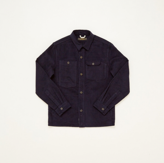 Freemans Sporting Club Moleskin Camp Shirt @FSCnyc