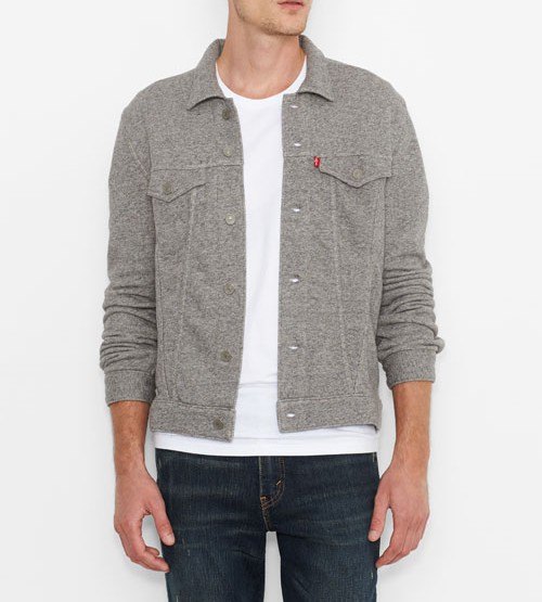 Levi's French Terry Trucker Jacket @Levis