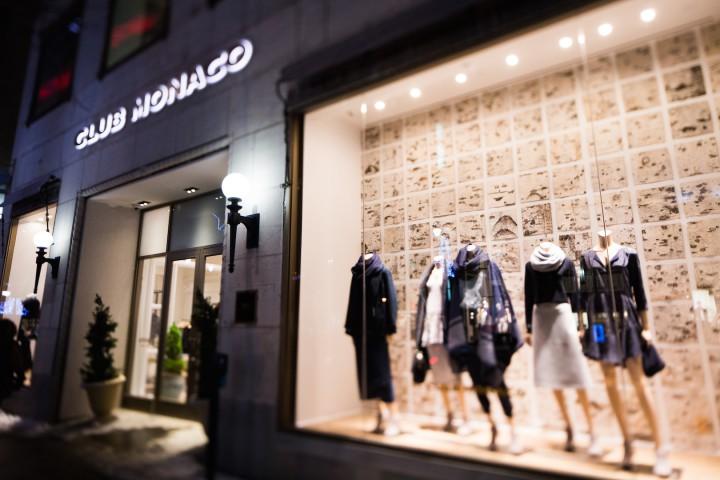 Retail: Club Monaco Montreal Flagship Store @ClubMonaco