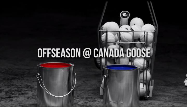 MTTV: Tennis Practice with Milos Raonic @CanadaGooseInc