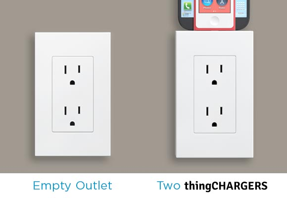 Home: thingCHARGER Outlet Dock @thingCHARGER