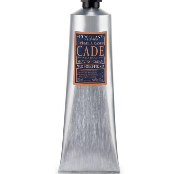 L'Occitane Cade Shaving Products @LOCCITANE