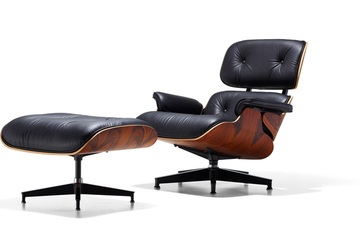 Eames Lounge Chair and Ottoman @hermanmiller