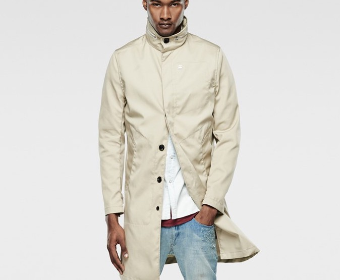 Clothing: G-Star Raw Garber Field Trench @GStarRAW