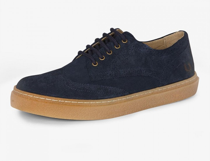 Footwear: Fred Perry Davies Lace-Up Derby @fredperry
