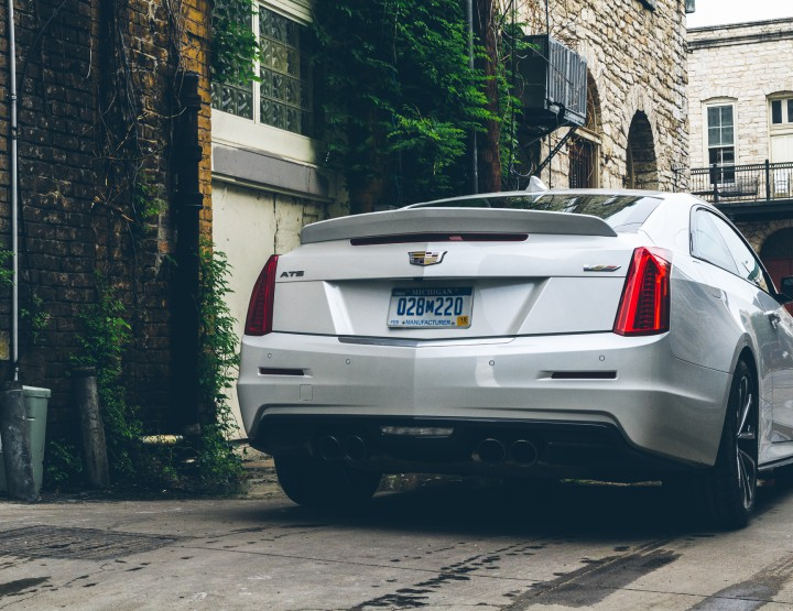 Automotive: 2016 Cadillac ATS-V @Cadillac #daregreatly