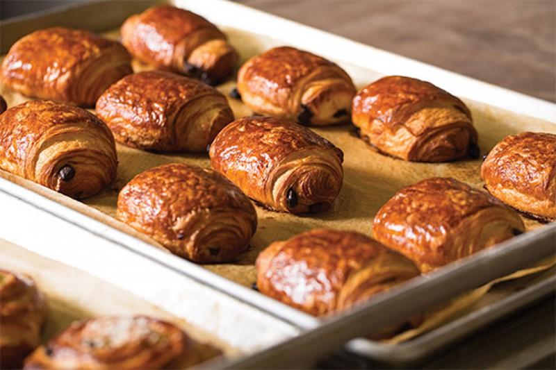 La Boulange Chocolate Croissants
