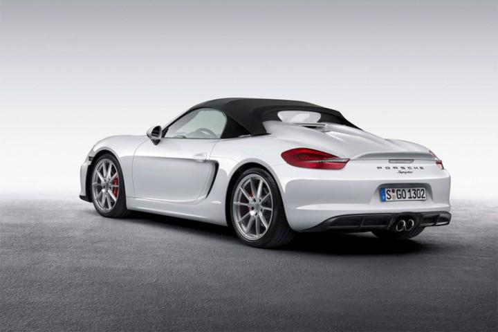 Automotive: 2016 Porsche Boxter Spyder @Porsche