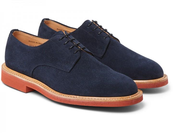 Footwear: Mark McNairy Navy Derbys @mmcnairy