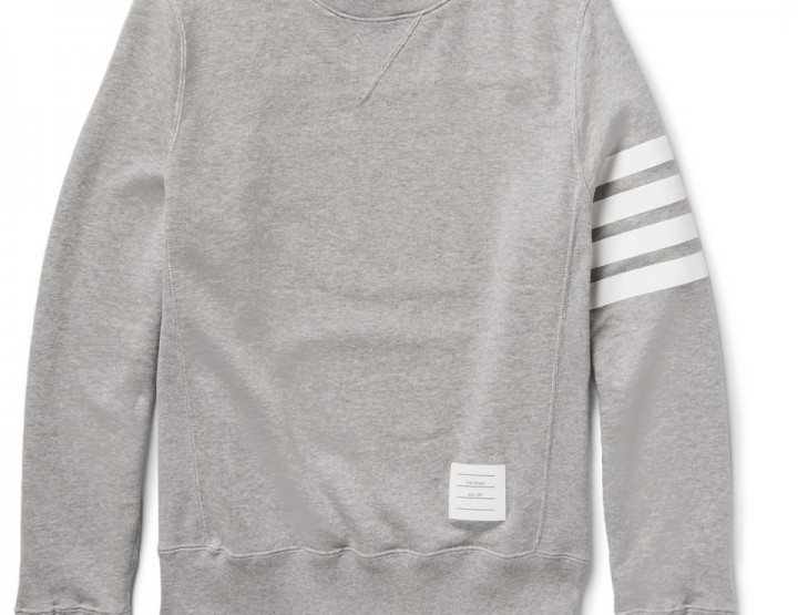 Clothing: Thom Browne Classic Sweatshirt @ThomBrowneNY