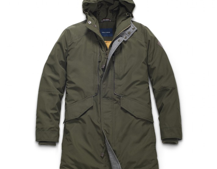 Clothing: Cole Haan Utility Down Military Parka @colehaan