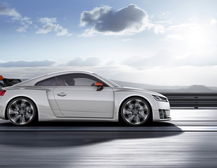 Automotive: Audi TT Clubsport Turbo Concept @Audi