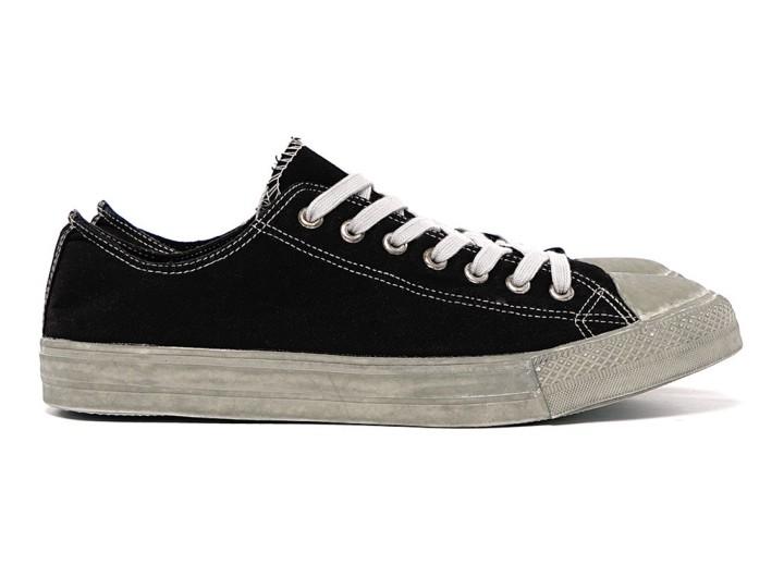 Footwear: COMME des GARÇONS HOMME Dyed Sneakers @COMMEGARCONS