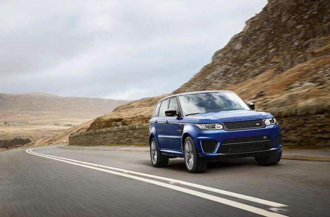 Automotive: 2015 Range Rover SVR @LandRover