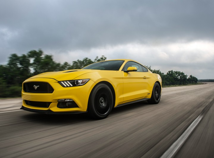 Automotive: 207.9 mph Hennessey Mustang @HennesseyPerf