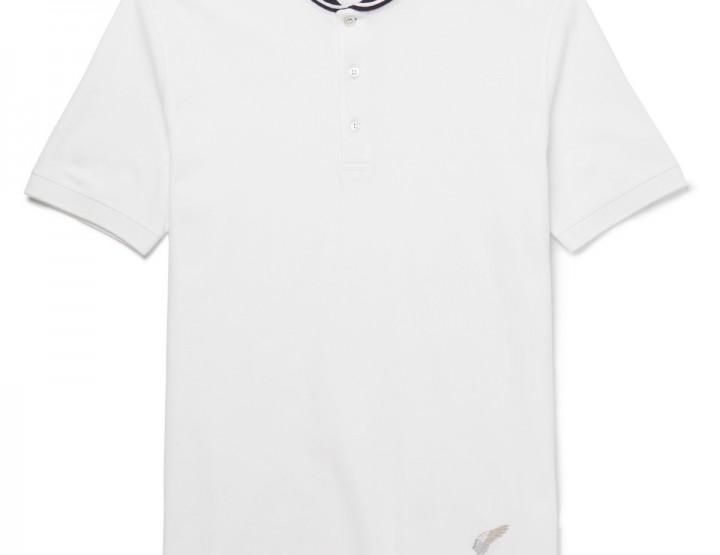 Clothing: Michael Bastian Shawl Collar Polo @michaelbastian