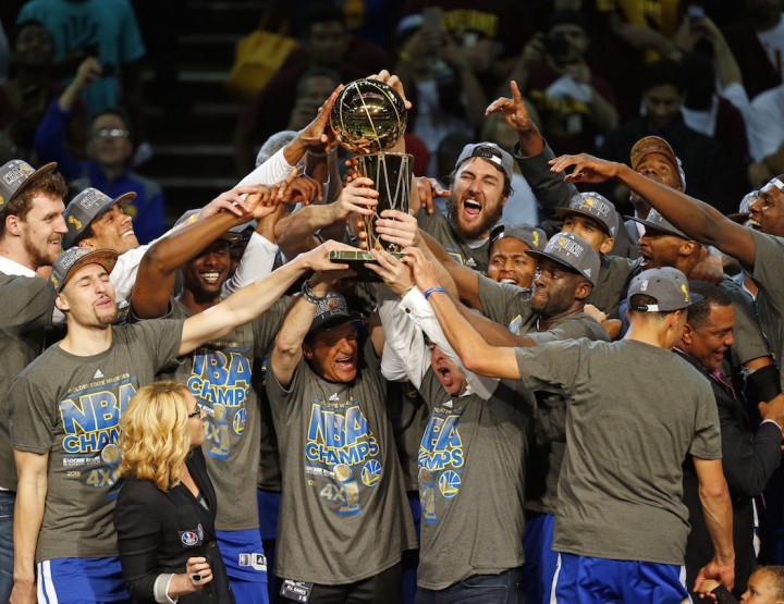 News: The Golden State Warriors Are NBA Champions @warriors
