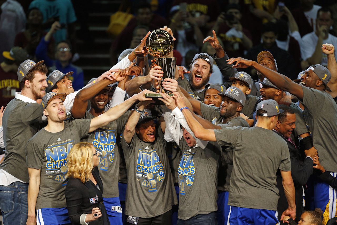 The Warriors Are NBA Champions @warriors | Marcus Troy