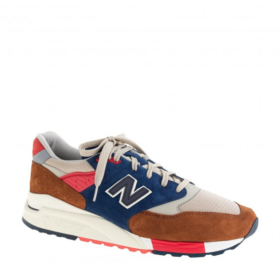 Footwear: J.Crew x New Balance 998