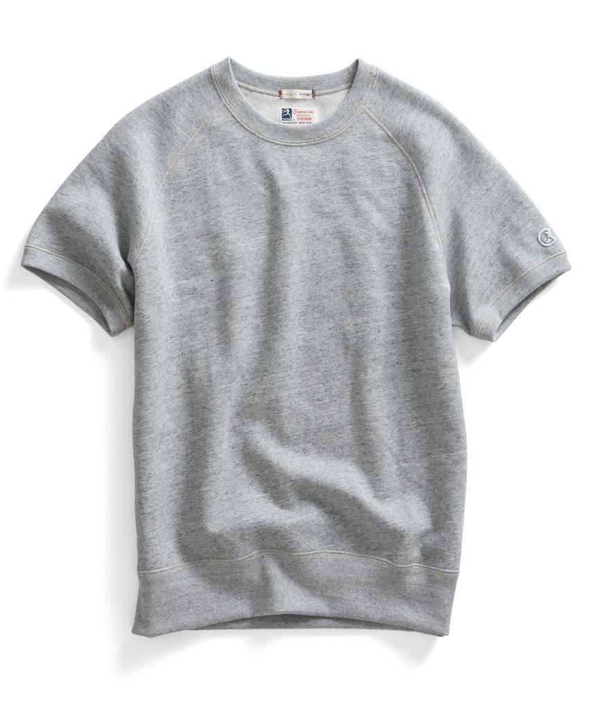 Todd Snyder x Champion Short Sleeve Sweatshirt @Toddsnyder ...