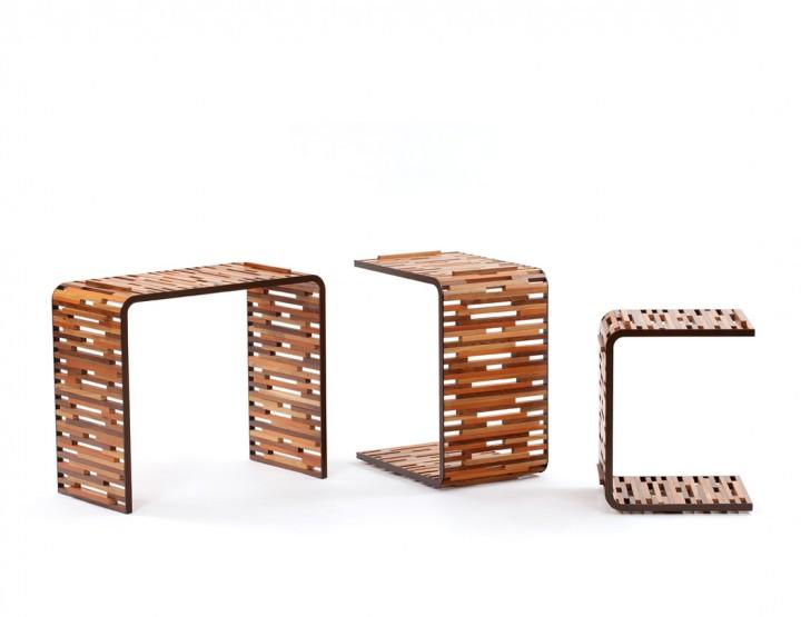 Home: Pascali Semerdjian Arquitetos Tables