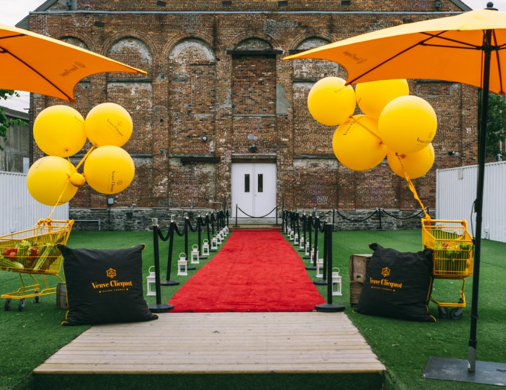 Food: Veuve Clicquot Rich Official Launch @veuveclicquot