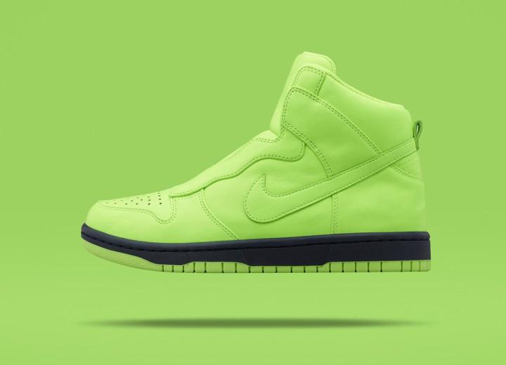 SMMF: sacai x NikeLab Dunk Lux High @Nike