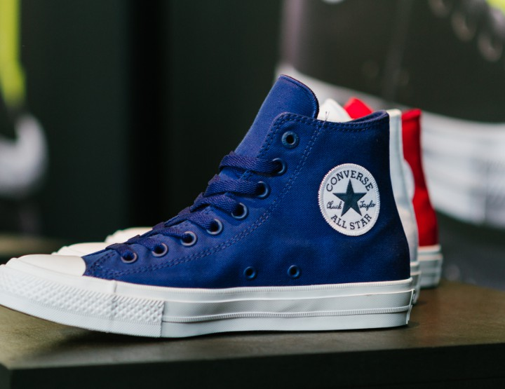 Footwear: Converse Unveils The Chuck Taylor All Star II @converse #chucktaylorII