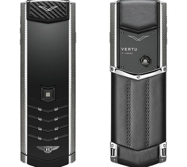 Gadgets: Vertu Signature For Bentley