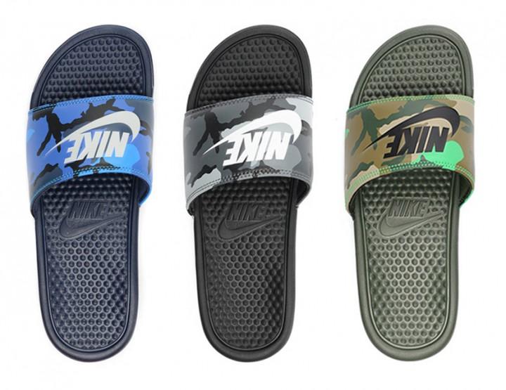 Footwear: Nike Benassi JDI Slide