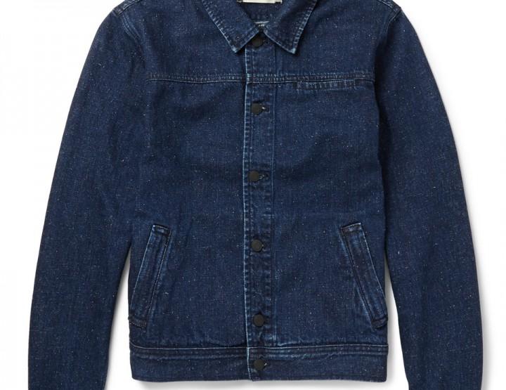 Clothing: Oliver Spencer Slubbed-Denim Jacket @O_Spencer