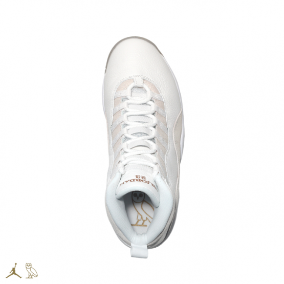 Footwear: OVO Air Jordan 10 @Jumpman23