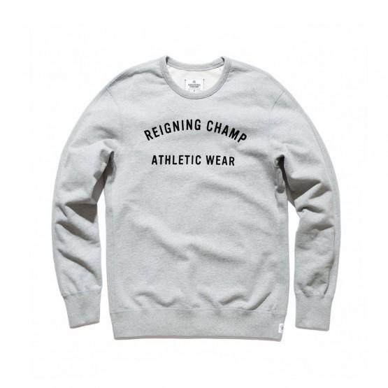 Clothing: Reigning Champ Gym Logo Crewneck @reigningchamp