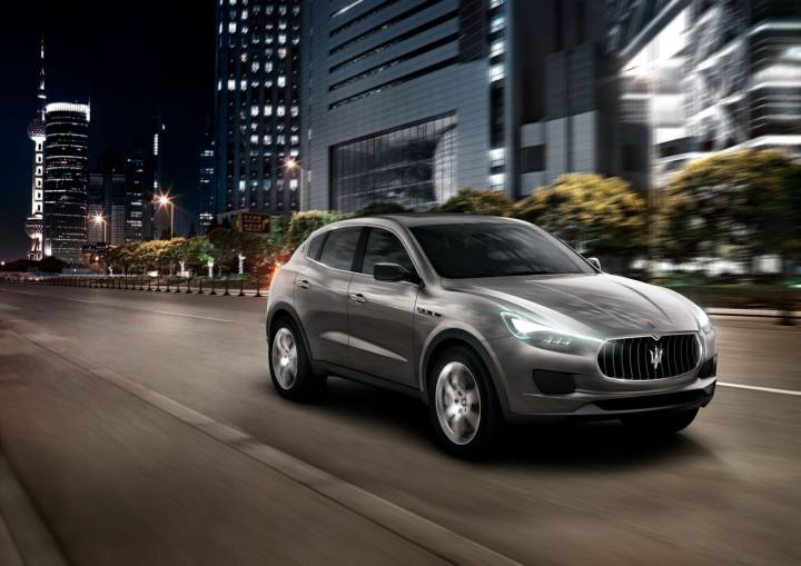 Automotive: Maserati Unveils Levante SUV @Maserati_HQ