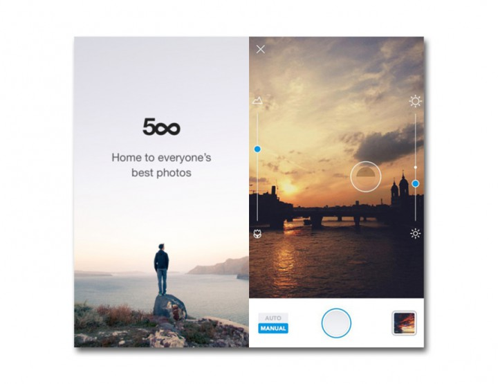 News: 500px app for Photographers gets redesigned @500px
