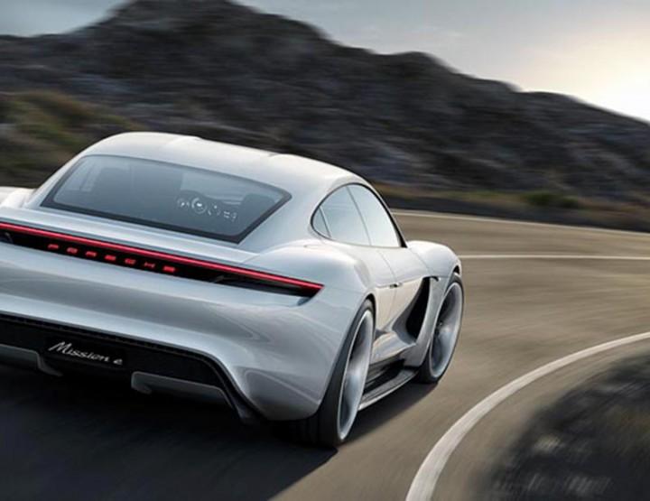 Automotive: Porsche's Exciting Mission E Concept @Porsche